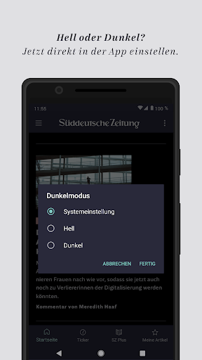 SZ.de - Nachrichten - Süddeutsche Zeitung  screenshots 1