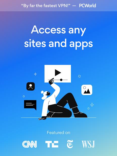 Hotspot Shield Free VPN Proxy & Secure VPN screenshot 10