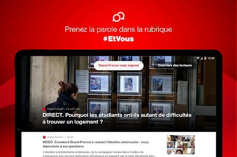 Ouest-France, lu2019actu de la commune au monde 4.6.1 Screenshots 20