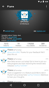 Plume for Twitter  For Pc (Free Download On Windows7/8/8.1/10 And Mac) 1