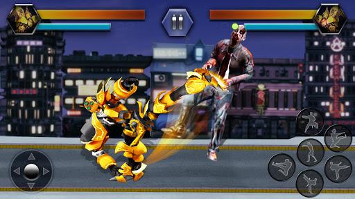 Super Robot Vs Zombies Kung Fu Fight 3D 1.10 screenshots 3