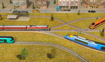 Indian Train Pro Driving Sim - City Train Game