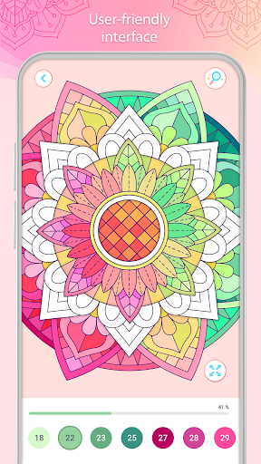 Color by Number u2013 Mandala Book 2.2.1 screenshots 5
