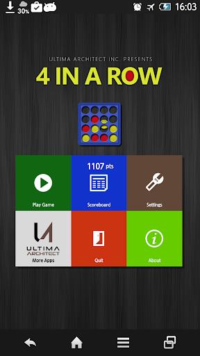 4 in a Row 1.4.0 screenshots 1