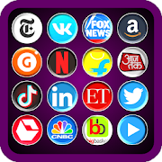 Web Browser: All Social Media Shopping & News App