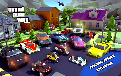 Grand City Theft War: Polygon Open World Crime 2.1.7 screenshots 2