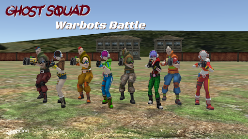 Ghost Squad: Warbots Battle screenshots 9