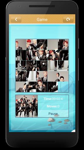 Code Triche EXO Slide Puzzle Game (Astuce) APK MOD screenshots 6