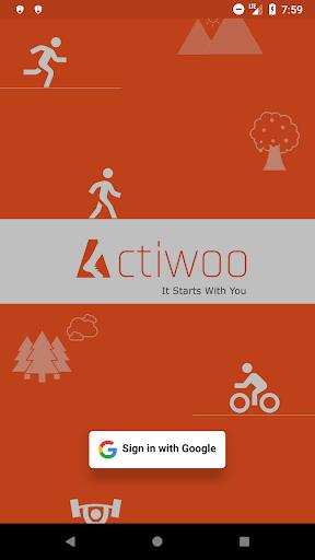 Actiwoo screenshot 1