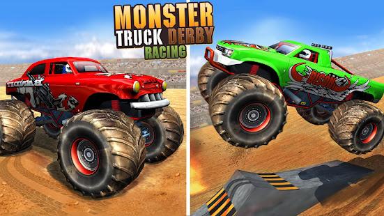 Police Demolition Derby Monster Truck Crash Games 3.3 APK screenshots 5