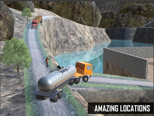 Indian Oil Tanker Truck Simulator Offroad Missions 2.8 Screenshots 6