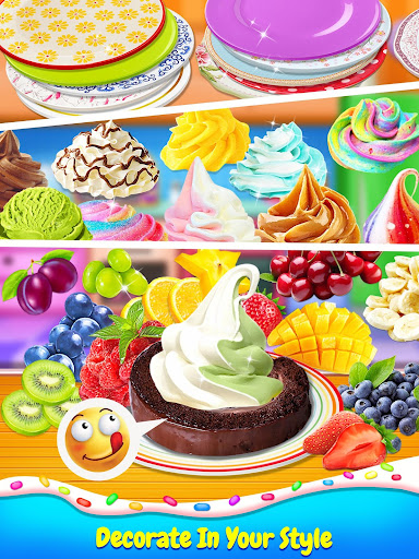 Ice Cream Cake Roll Maker - Super Sweet Desserts apkdebit screenshots 3
