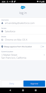 Salesforce Authenticator 3.7.1 Screenshots 6