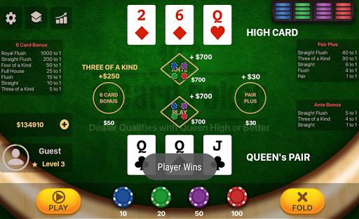 Three Card Poker 2.0.5 screenshots 4