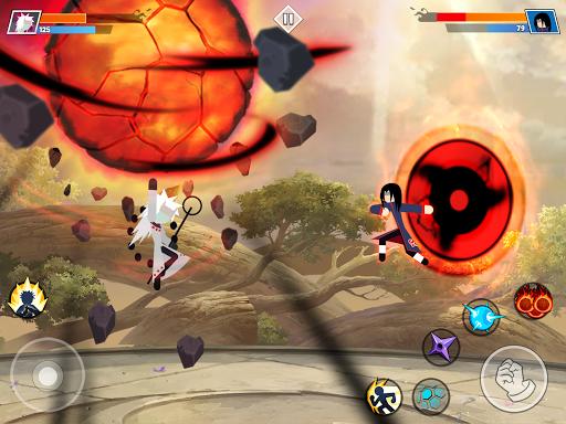 Stickman Shinobi : Ninja Fighting 2.2 screenshots 13