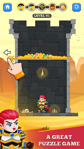 Hero Rescue modiapk screenshots 1