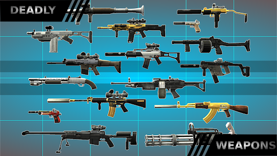 Multiplayer Shooting Arena A2S2K Mod Apk 1.4.3 (A Large Number of Gold Coins) 2