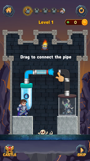 Hero Pipe Rescue: Water Puzzle apktreat screenshots 2