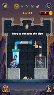 Hero Pipe Rescue: Water Puzzle 2
