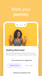 Wisdo: Mentoring & Motivation Screenshot