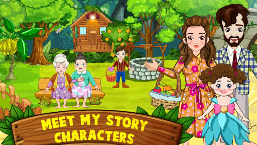 Mini Town: Red Riding Hood Fairy Tale Kids Games modavailable screenshots 2