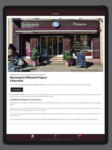 Boulangerie Pu00e2tisserie Payeur 1.4.0 screenshots 4