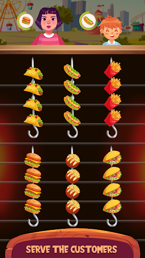 Cooking Sort - Free Ball Sort Puzzle Game  screenshots 2