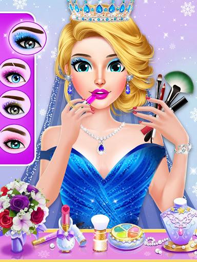 Ice Princess Wedding Dress Up Stylist 0.11 screenshots 16