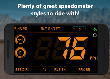 Speedometer & Odometer - TripMaster Car and Bike