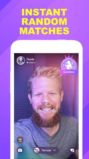 Wink - fun video chat, video call, match new ppl  screenshots 1