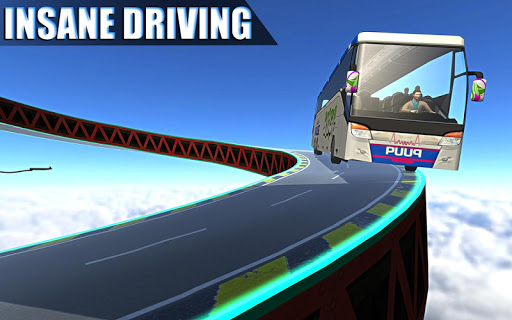 Impossible Bus Simulator Tracks Driving 1.7 Screenshots 11