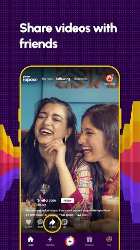 Roposo: Indian Short Video App. Viral Funny Videos  Screenshots 6