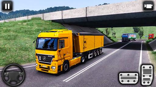 euro un camion parking défi: conduite simulateur APK MOD screenshots 2