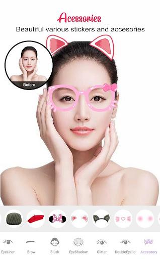 Perfect Sweet Makeup Camera-Virtual Makeover 1.0.0 Screenshots 6