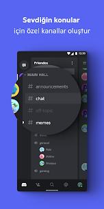 Discord – Konuş, Görüntülü Sohbet Et ve Takıl Uygulamasını APK İndir 3