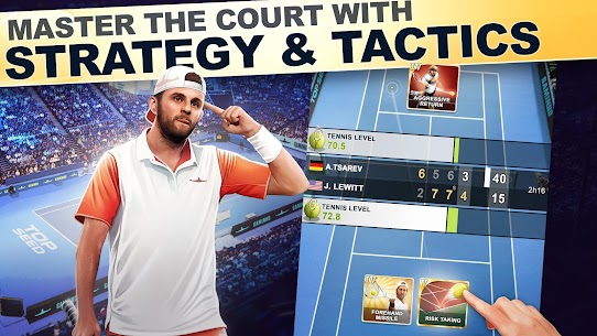 TOP SEED Tennis: Sports Management Simulation Game Mod 2.49.1 Apk [Unlimited Money] 3