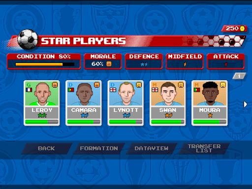 Retro Goal Apkfinish screenshots 8