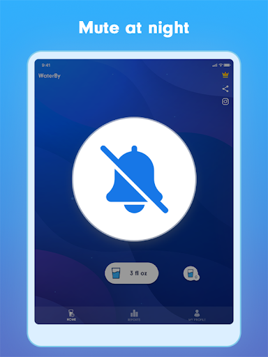WaterBy: Water Drink Tracker Reminder & Alarm 1.7.2 Screenshots 15