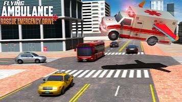 Flying Ambulance Rescue Emergency Drive
