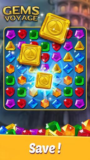 Gems Voyage - Match 3 & Jewel Blast 1.0.20 screenshots 4