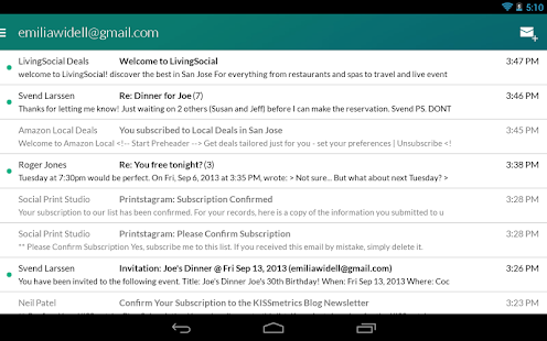 Boomerang Mail - Gmail, Outlook & Exchange Email Screenshot