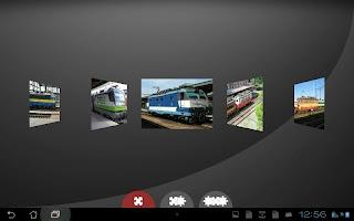 Train jigsaw puzzles