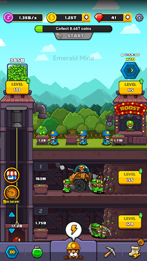 Popo's Mine - Idle Mineral Tycoon  screenshots 5
