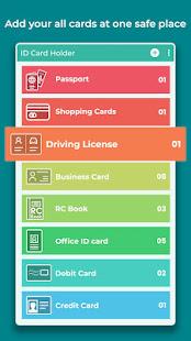 ID Card Wallet - Card Holder