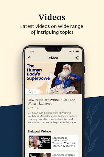 Sadhguru - Yoga, Meditation & Spirituality 6.4.6 Screenshots 8
