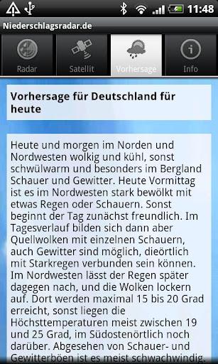 NiederschlagsRadar.de  screenshots 5