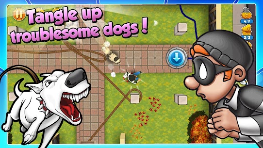 Robbery Bob 2 MOD (Unlimited Coins) APK for Android 4