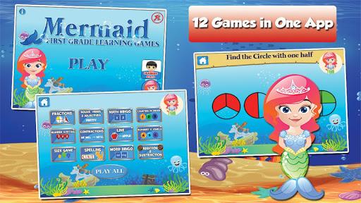 Mermaid Princess Grade 1 Games 3.15 screenshots 11