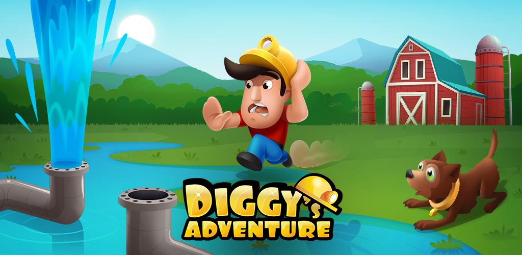 Diggy's Adventure: Maze Games poster 0