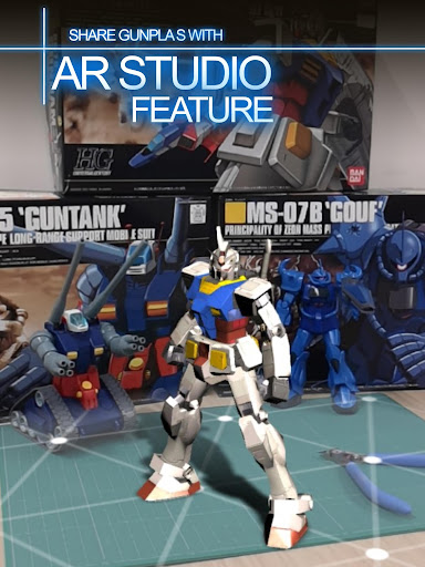 GUNDAM BATTLE GUNPLA WARFARE apkmr screenshots 6